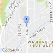 map 401 Mississippi Ave. SE