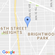 map 800 Ingraham St. NW