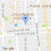 map 3101 13th St. NW