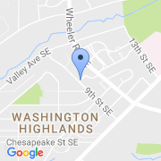 map 908 Wahler Pl. SE