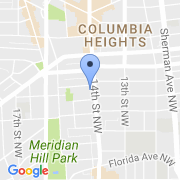 map 2750 14th St. NW