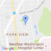 map 3560 Warder St. NW