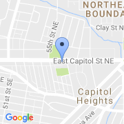 map 5601 East Capitol St. SE