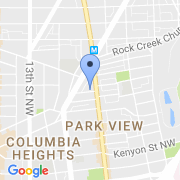 map 3600 Georgia Ave. NW