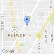 map 4501 Kansas Ave. NW