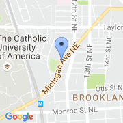 map 1150 Michigan Ave. NE