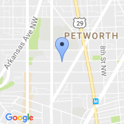 map 6923 Willow St. NW