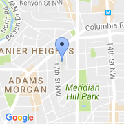 map 2525 17th St. NW