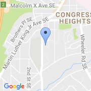 map 3401 4th St. SE