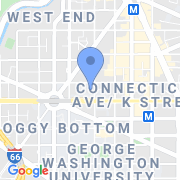 map 1050 21st St. NW