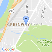 map 3375 Minnesota Ave. SE