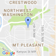 map 1755 Newton St. NW