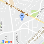 map 3600 Alabama Ave. SE