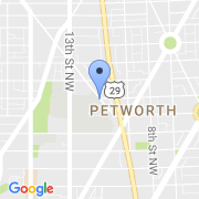 map 4301 13th St. NW